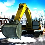 La neve pesante Escavatore Crane Simulator 3D