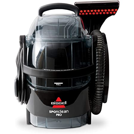 Bissell 3624 Spot Clean Professional Portable Carpet Cleaner - Corded , Black