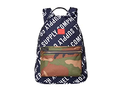 Herschel Supply Co. Nova Mid-Volume (Roll Call Peacoat/Woodland Camo) Backpack Bags
