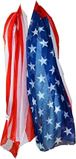 Scarf_tradinginc American Flag Pareo Sarong Swimsuite Cover-up