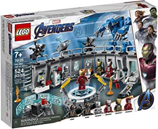 LEGO Marvel Avengers Iron Man Hall of Armor 76125 Building Kit (524 Piece)