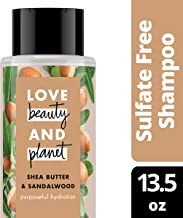 Love Beauty and Planet Shea Butter & Sandalwood Shampoo Purposeful Hydration, 400ml