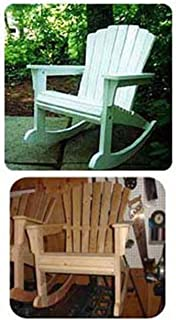 giant rocking chair plans