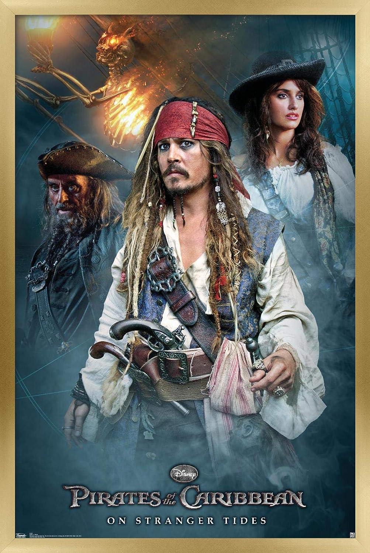 Trends International Disney Pirates of On The 税込 Strange Caribbean: 推奨