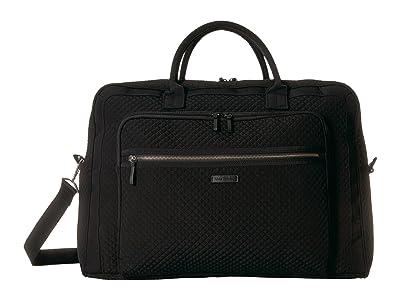 Vera Bradley Iconic Grand Weekender Travel Bag (Classic Black) Weekender/Overnight Luggage