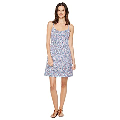 Tommy Bahama Edessa Blooms Short Sundress (Graceful Sea) Women