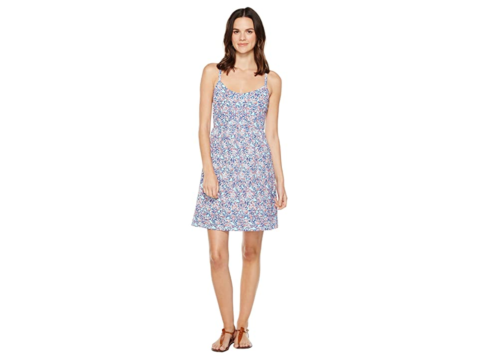 Tommy Bahama Edessa Blooms Short Sundress (Graceful Sea) Women