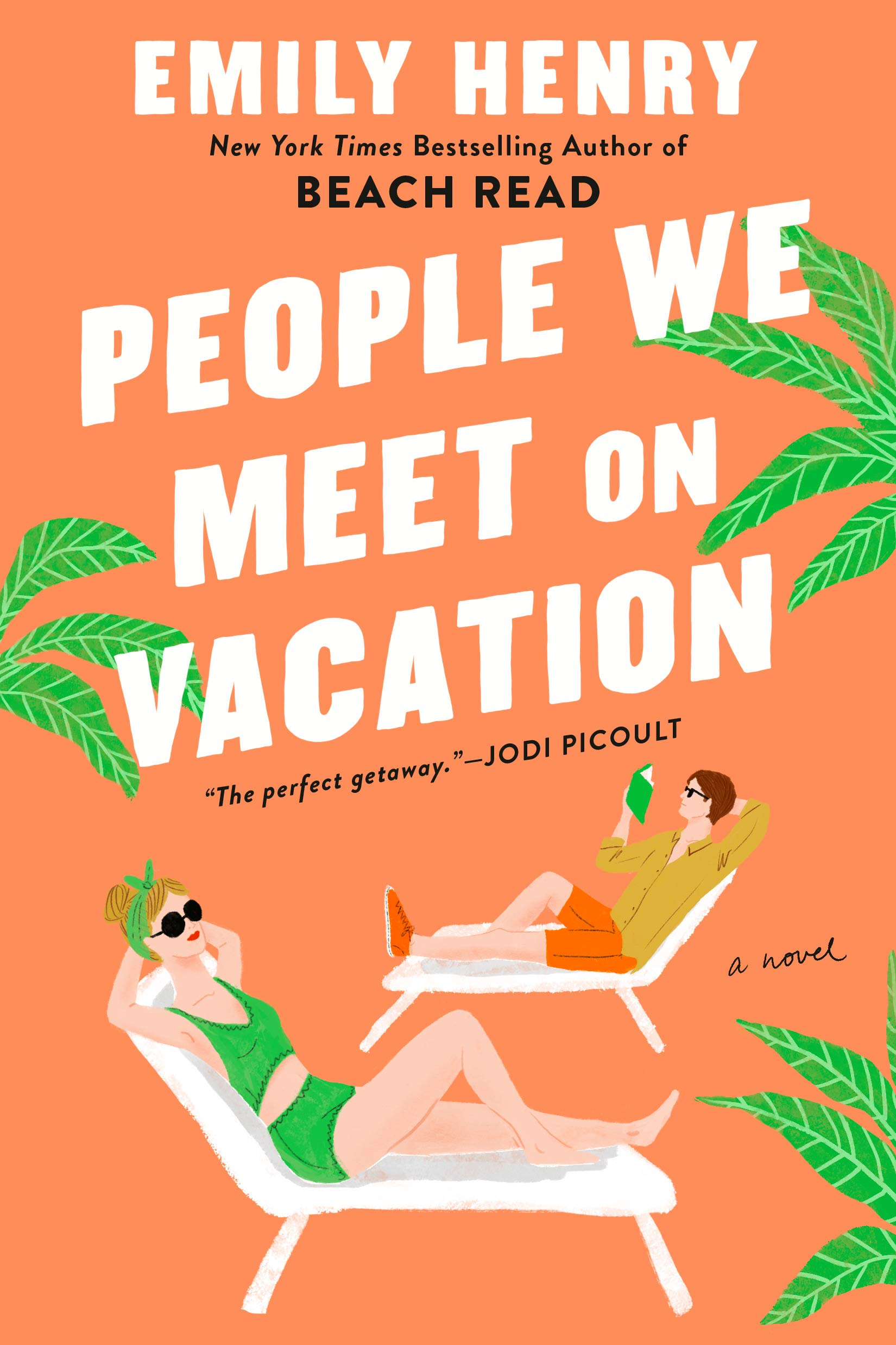 Cover image of People We Meet on Vacation by Emily Henry