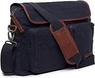 Royal Enfield Navy Leather Messenger Bag (RLCBGI000012)