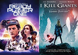 Ultimate Easter Fantasy Sci Fi Eggs Finds Double Feature: Ready Player One + I Kill Giants (2 DVD Bundle)