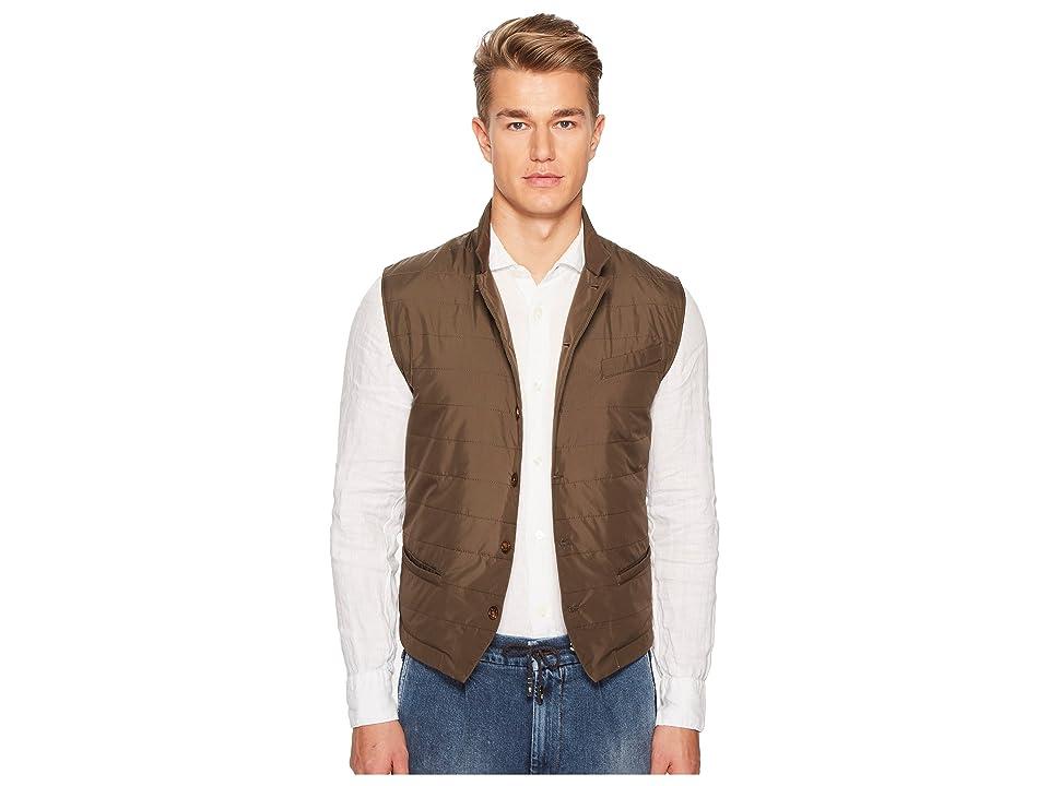 eleventy Nylon Vest (Military) Men