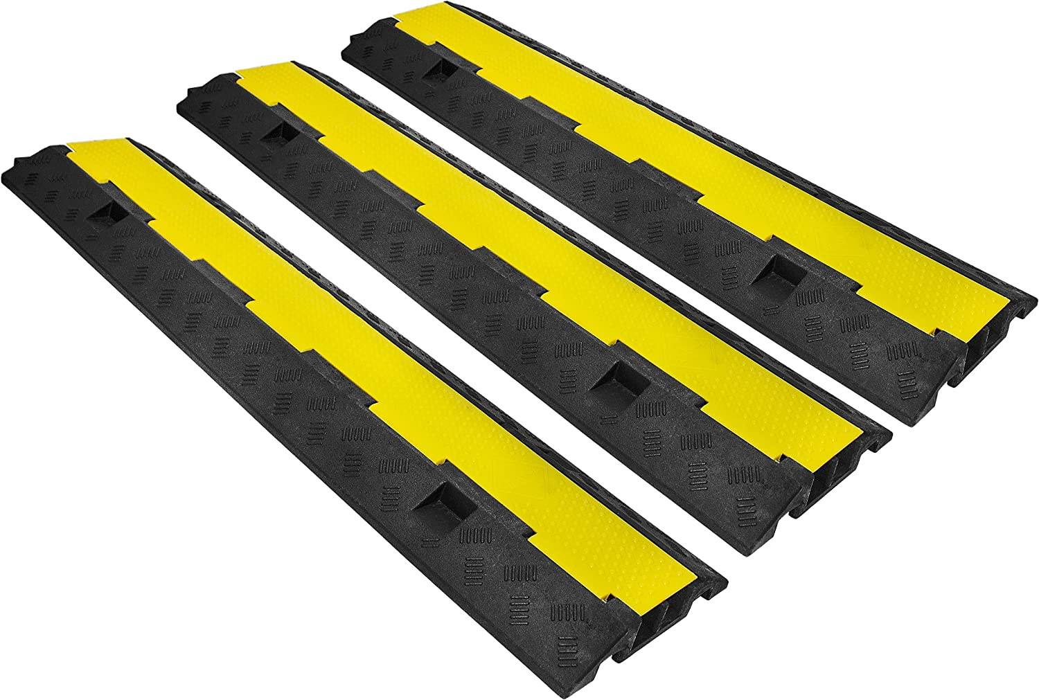 SENDUO 3 Pack of 2 Channel Protector Cable Complete Free Shipping Ramp Omaha Mall