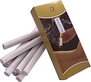 Pure Moxa Rolls for Mild Moxibustion (Box of 10 Rolls)