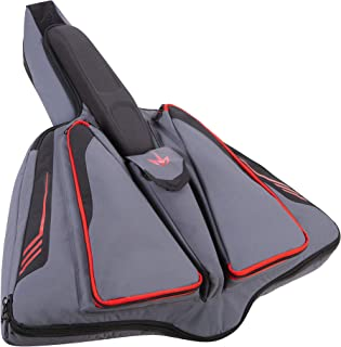 Allen Company Hornet R1 Edge Reverse Limb Crossbow Case, 28 inches - Gray/Red