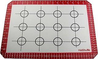 HotShuffle Pro Non-Stick en Fibres de Verre réutilisables Silicone Tapis de Cuisson (40 Large cm x 28cm)