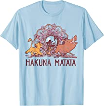 Disney Lion King Hakuna Matata Henna Group Shot Portrait T-Shirt