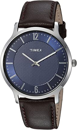 Timex - Metropolitan Skyline Leather Strap