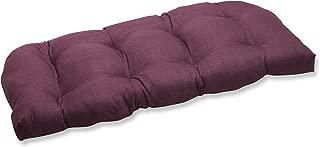 Pillow Perfect Outdoor Rave Vineyard Wicker Loveseat Cushion