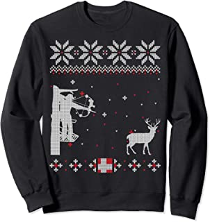 Best bow hunter ugly christmas sweater Reviews