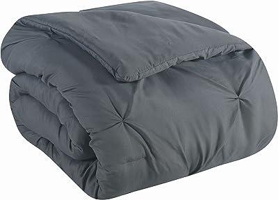 Avondale Manor Bradford Bed in a Bag, Twin, Steel Grey