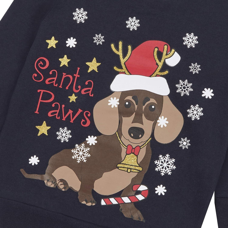 Minikidz Childrens Christmas Design Long Sleeved Top