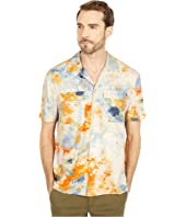 Hawaii Fit All Over Printed Viscose Short Sleeve Shirt