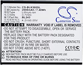 Cameron Sino 2000mAh Battery for Lenovo K3 Note, K50-T3s, K50-T5, Lemon K3 Note