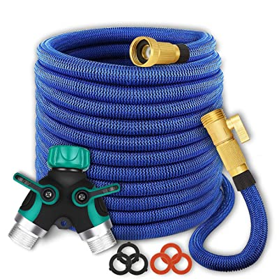 maswater Garden Hose 50FT Expandable Water Hose...