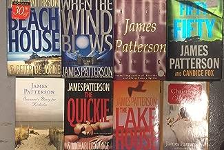 James Patterson Hardcover Novel Set of 8