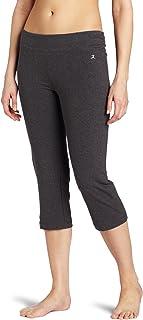 Danskin womens Essential Sleek Fit Crop Pant Casual Pants