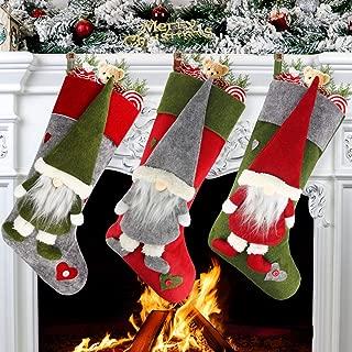 Aiduy Set of 3 Christmas Stockings 18