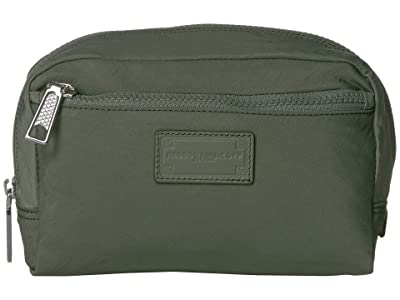 Rebecca Minkoff Nylon Cosmetic Pouch (Olive) Wallet Handbags