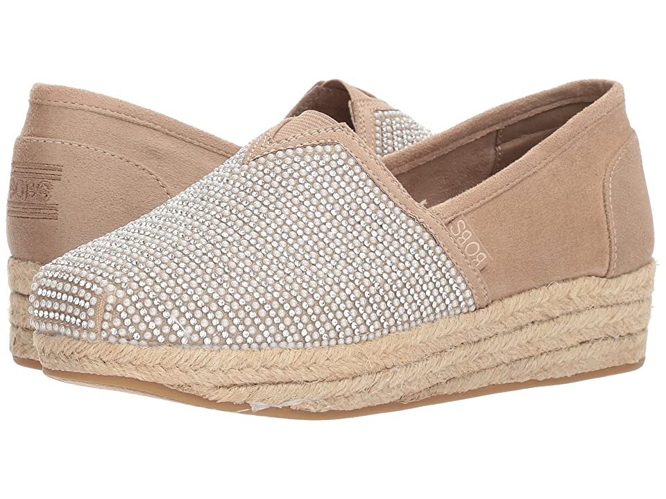 BOBS from SKECHERS Highlights Jewel Rock (Taupe) Women