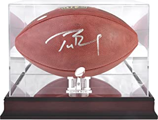 tom brady signed football
