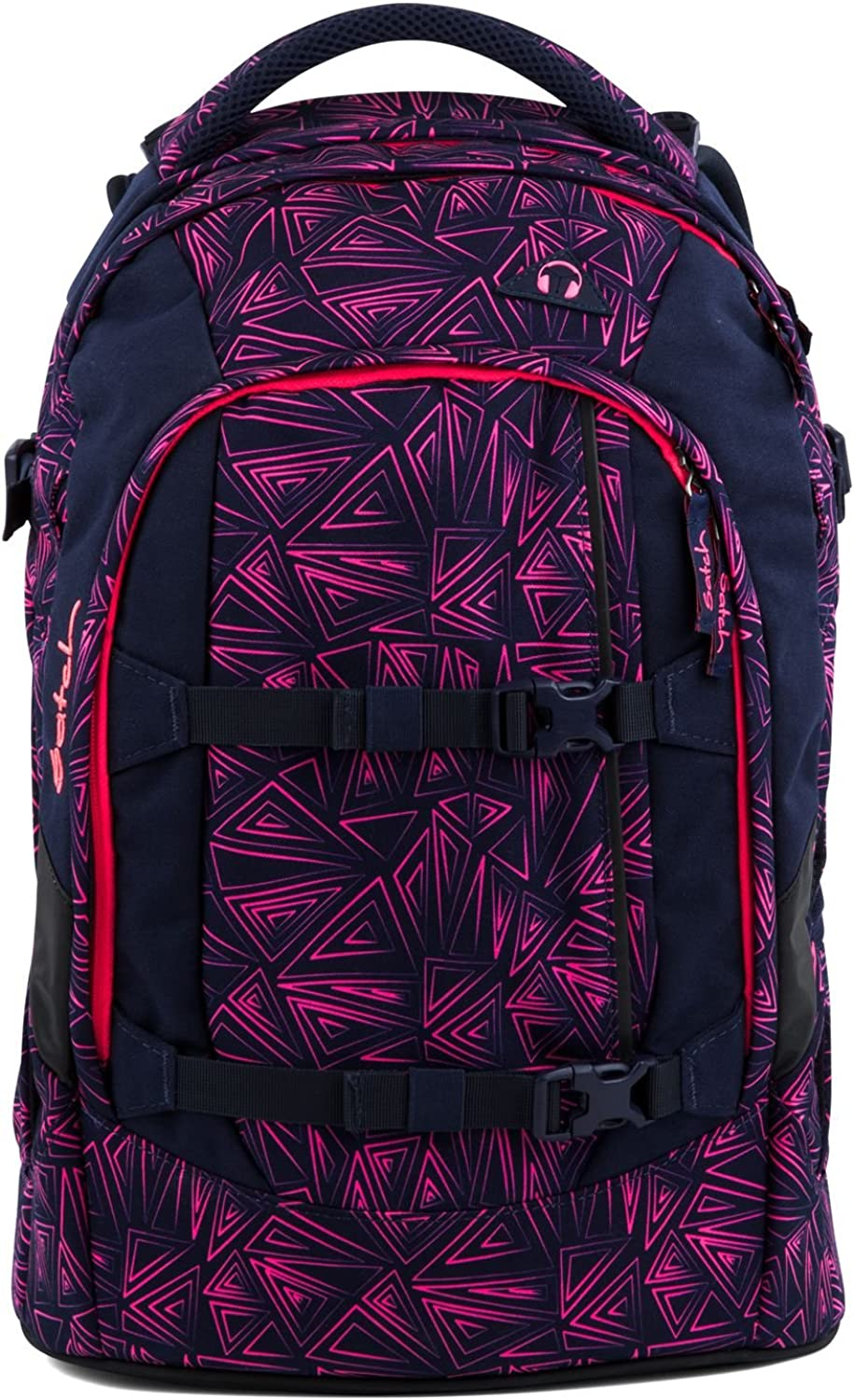 Fond of Bags Schoolbag Set Pink Dunkelblue