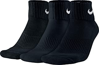 Performance Cushion Quarter Training Socks (3 Pairs)