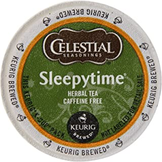 Celestial Seasonings Sleepytime Tea K-Cup, 12-Count, Green (SYNCHKG034514)