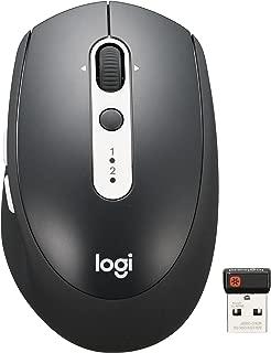ロジクール ワイヤレスマウス 無線 マウス Bluetooth Unifying 7ボタン M585GP グラファイトコントラスト windows mac Chrome Android iPad OS 対応 M585 国内正規品 2年間無償保証