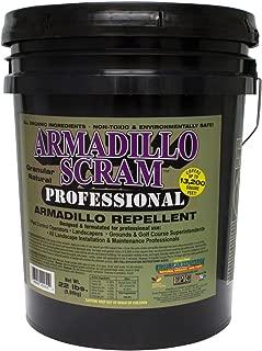 Armadillo Scram Professional Repellent 22 Lbs Natural Rtu Armadillo Repellent