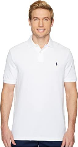 a48563e9 Polo Ralph Lauren. Classic Fit Pique Polo. $85.00. 5Rated 5 stars out of 5.  White