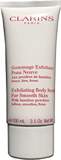 Clarins Exfoliating Body Scrub For Smooth Skin With Bamboo Powders Travel Size - 3.5 Ounces