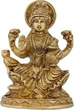 Indian Decorative Items for Home Religious Sculpture Laxmi for Puja 5 Inch,825 Grams