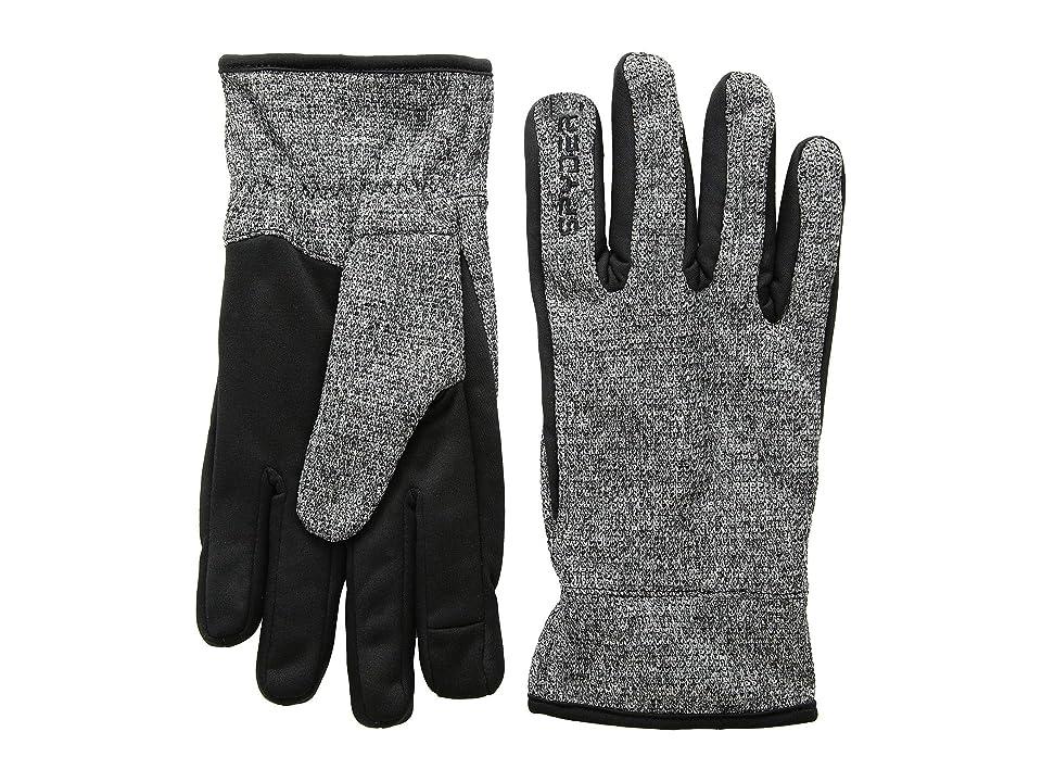 Spyder Bandit Stryke Gloves (Black/Black/Black) Extreme Cold Weather Gloves