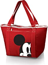 Disney Classics Mickey/Minnie Mouse Topanga Insulated Cooler Bag, Mickey Mouse/Red