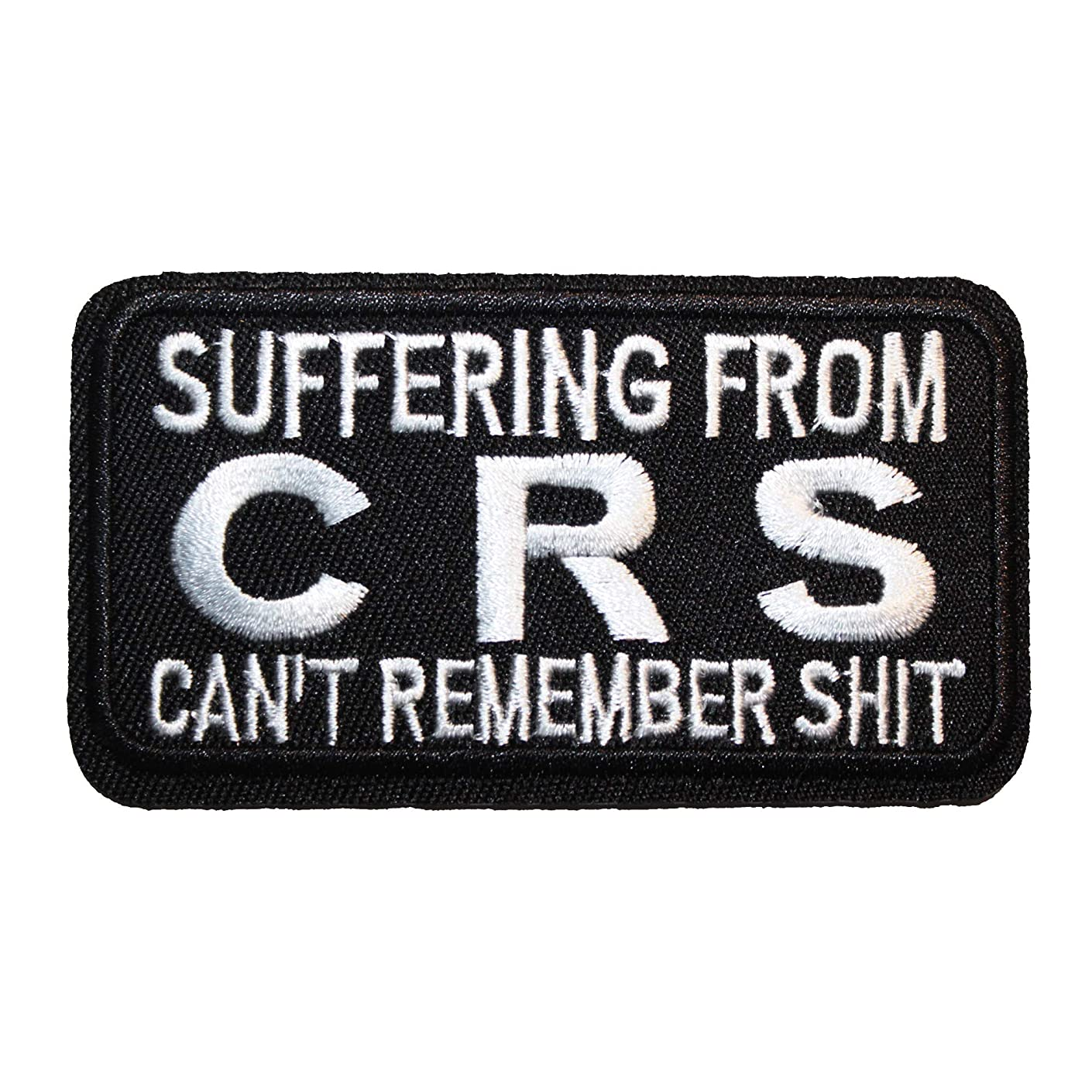 U-Sky Sew or Iron on Patches - Suffering from CRS Can't Remember Shit Patch