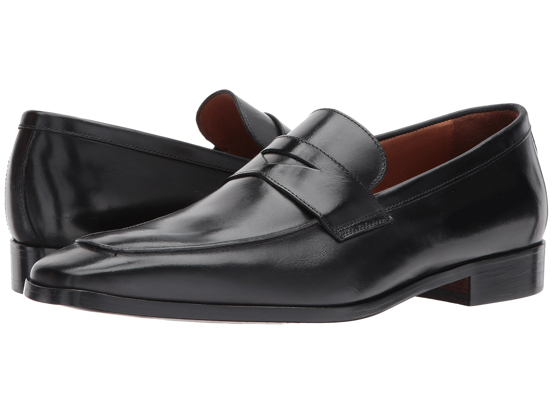 Black Toe Mocc Massimo Matteo 2 Penny An04Z