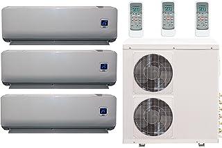 Comfee MS11M6-27HRFN1-TRIO - Equipo de Aire Acondicionado de inversión Total Full-Inverter 3 x 9000 BTU Incl. Bomba térmica, tamaño de la habitación 3 x 32 m², clasificación energética: A++