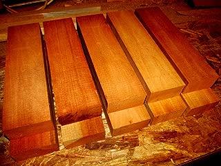 Eight (8) KILN Dried Pieces of Spanish Cedar Lumber Wood Blanks 2 X 2 X 11''