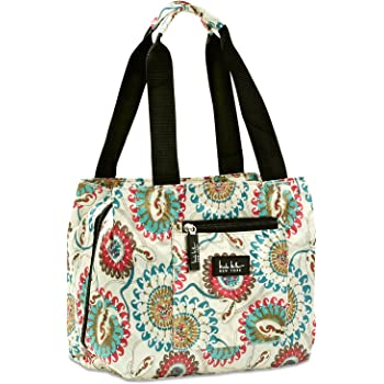 24-7 International Nicole Miller of New York Insulated Lunch Cooler 11 Lunch Tote Copacabana Magenta