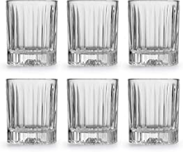 Libbey Dricksglas Flashback – 35,5 cl/355 ml – 6 stycken – diskmaskinssäker – massivt glas – klassisk vintage design